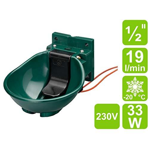 Tränkebecken Kerbl HP 20 RH//230V frostfrei beheizt frostsicher heizbar Kunststof