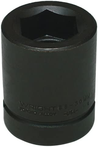 Price reduction Wright Tool 88-34MM 34MM 1-Inch Drive Im Metric 6 Point Some reservation Standard