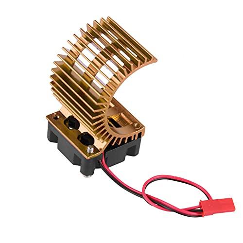 Kuuleyn Disipador de calor de accesorios de motor con ventilador de refrigeración,...