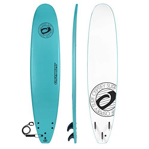 Osprey Surf Surfboard, Unisex, Foamie, Mint, 9.3-Inch