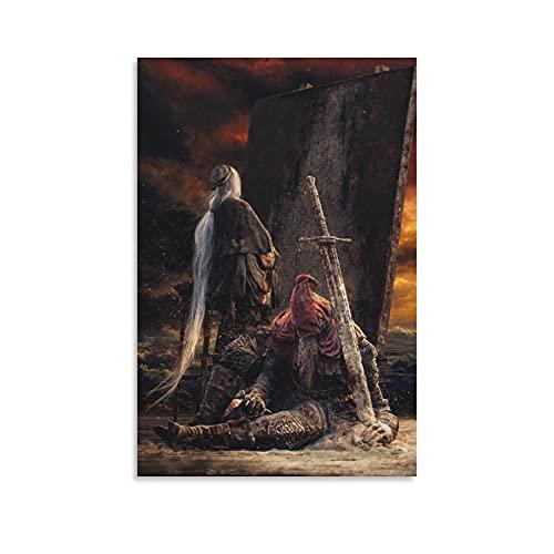 Gael Dark Souls3キャンバスアートキャンバスポスター寝室の装飾スポーツ風景オフィスルームの装飾ギフトキャンバスポスター壁アートの装飾リビングルームの寝室の装飾のための絵画の印刷 20x30inch(50x75cm)