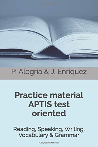 APTIS oriented practice material: Practice material APTIS test oriented