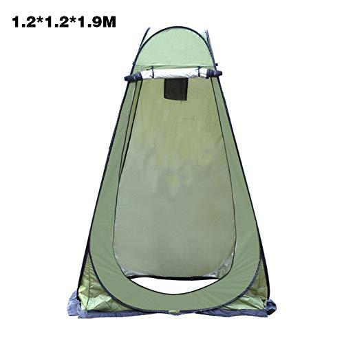 precauti Duschzelt Camping Toilettenzelt Mobile Camping Dusche Camping Zelt,Pop Up Pod Umkleidekabine Privatzelt Einfache Einrichtung Tragbare Außendusche Zelt Camp Toilette Regenschutz Für Camping