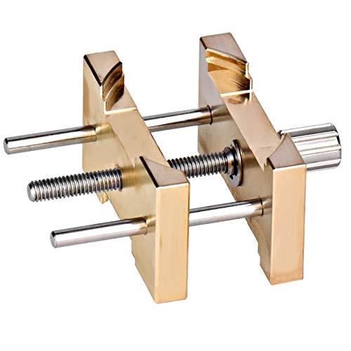 Cobre Material de hierro Accesorio Soporte para movimiento Soporte para reloj Evita resbalones para reparadores de relojes Accesorios profesionales Fácil de operar Durabilidad
