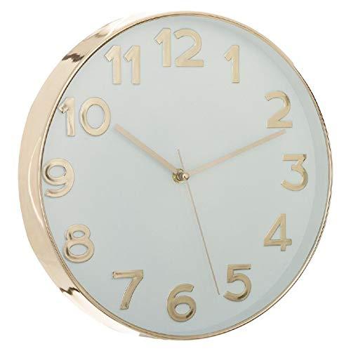 Dcasa Numeros Pared Relojes de Chimenea Decoración del hogar Unisex Adulto, Color, única