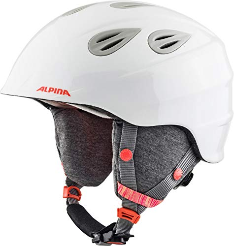 ALPINA GRAP 2.0 JR. Skihelm, Kinder, white-flamingo, 54-57