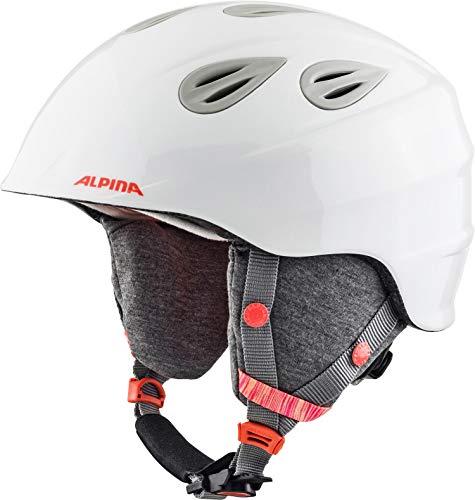 ALPINA GRAP 2.0 JR. Skihelm, Kinder, white-flamingo, 51-54