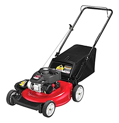 Yard Machines 140cc 21-inch 3-in-1 Push Mower