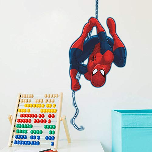 Spiderman 3D Pegatinas Spiderman Pegatinas Decorativas Pared Spiderman Pegatinas de Pared de Spiderman Para Ni/ños Decoraci/ón de la Pared Stickers Spiderman