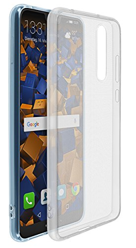 mumbi Hülle kompatibel mit Huawei P20 Pro Handy Hülle Handyhülle dünn, transparent
