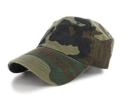 DS平原100%棉帽子男人女人一个尺寸的棒球帽(30+颜色)迷彩,一个尺寸