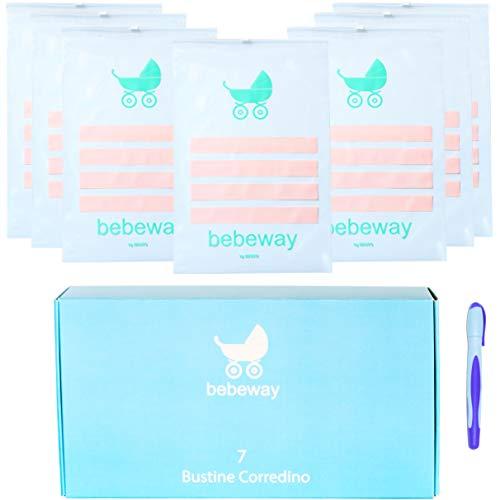 Bebeway 7 bolsas para Bolsa maternidad para Hospital organizador de cambio de ropa de bebé.caja de regalo de mamá embarazada bolsas para organizar la maleta para ir a la maternidad