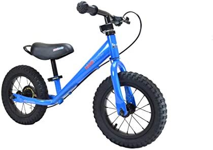 Kiddimoto Steel Frame Balance Running Bike with Brakes for Kids Toddlers pre School Learn to product image