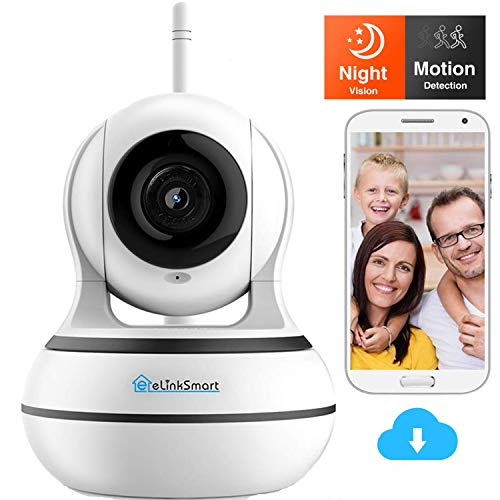 [2020 Neu] Home WiFi IP Kamera 960 * 1080p Überwachungskamera WiFi Innen-Kamera,WLAN IP Webcam Home und Baby Monitor mit Bewegungserkennung, Zwei-Wege-Audio, Nachtsicht, unterstützt Fernalarm