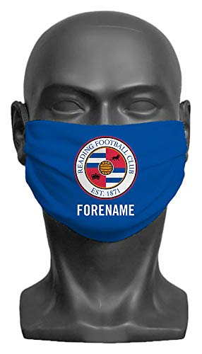 Personalised Reading FC Crest Adult Face Mask- Large