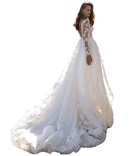 Top 10 best selling list for wedding dress romantic lace