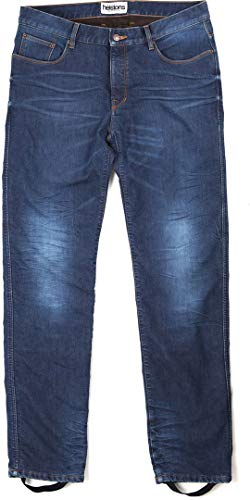 Helstons Motorrad Jeans Motorradhose Motorradjeans Corden Stone Wash Jeanshose blau 38, Herren, Chopper/Cruiser, Ganzjährig, Textil