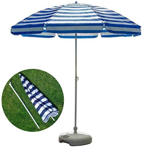 LHYLHY El Mejor ParaguasDeportivo con Flecos portátil y a Prueba de Vientopara Acampar, Vacaciones de Picnic