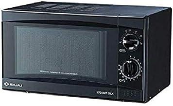 PRASHANT ELECTRICALS Bajaj 17 L Solo Microwave Oven (1701 MT DLX, Black)
