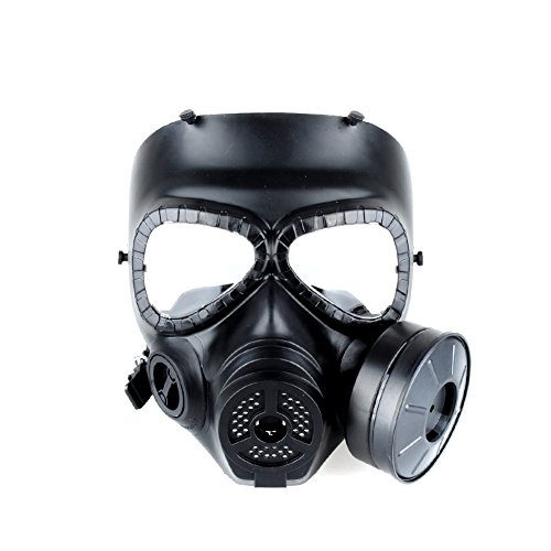 OFTEN Airsoft Paintbal Dummy Gas Mask Fan for Cosplay...