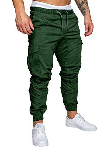 Green Men Pants