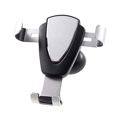 DFV mobile - Gravity Air Vent Phone Car Mount Holder with Clip for ACER LIQUID Z530 T02 (2015) - Black
