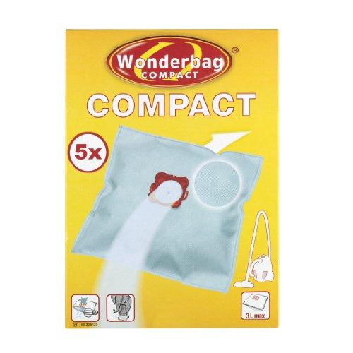 WPRO WB305-MW Boite de 5 Sacs Wonderbag Compact