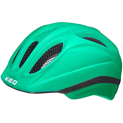 KED Meggy II Helm Kinder Green matt Kopfumfang M | 52-58cm 2021 Fahrradhelm