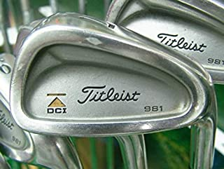Titleist DCI 981 Iron Set 3-PW Steel Right Handed 38.0in
