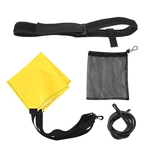 Yinuoday Erwachsene Kinder Widerstand Schwimmen Leine Festigkeit Ausbildung Elastische Seil Trainer Equipment6x10x2m Schwarz