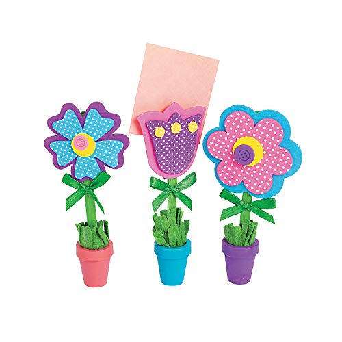 Price comparison product image Flower Recipe or Picture Holder Craft Kit, 12 sets