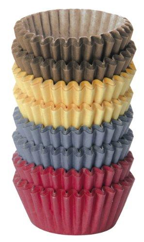 Tescoma Pack de 200 moldes de Papel, 4 cm, Multicolor, Cartón