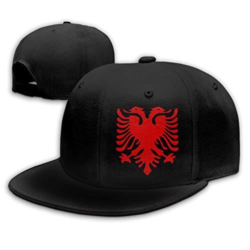 LanKa Albanische Flagge Männer Frauen verstellbare einfache Baseballmütze Papa Hut