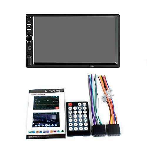 TOOGOO 7018B Coche AV 7 Pulgadas HD Pantalla Tactil Coche Bluetooth Mp5 Jugador Tarjeta De Coche Bluetooth De Manos Libres