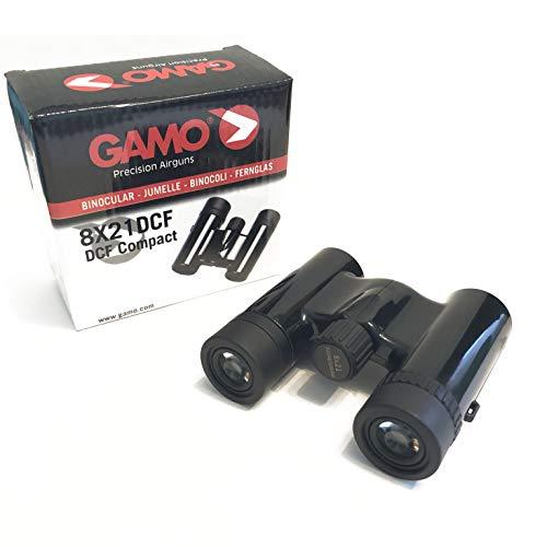 Outletdelocio. Prismáticos Binocular Compacto Gamo 8x21 DCF. Funda incluida