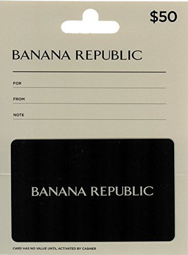 Banana Republic $50 Gift Card