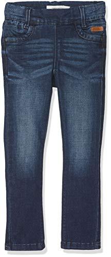 NAME IT Mädchen NITTONJA Skinny Legging DNM NMT NOOS Hose, Blau (Dark Blue Denim), (Herstellergröße:140)