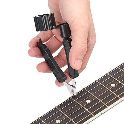 Extractor de clavijas de guitarra, aplicaciones amplias Enrollador de cuerdas de guitarra...