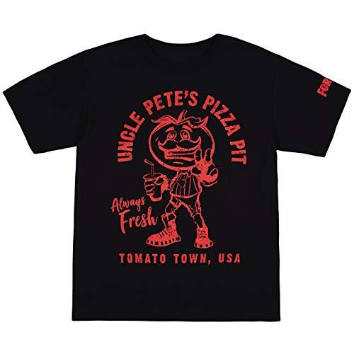 Fortnite Boys Officially Licensed Fortnite Logo Character Graphic T-Shirt, Black, 2XL
