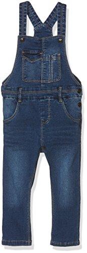 NAME IT NITCITI REG/SLIM DNM OVERALL MZ, pantalones de peto Niños, Azul (Medium Blue Denim), 80