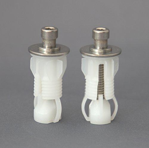Roca Paar WC-toiletbril voor uitneembare scharnieren