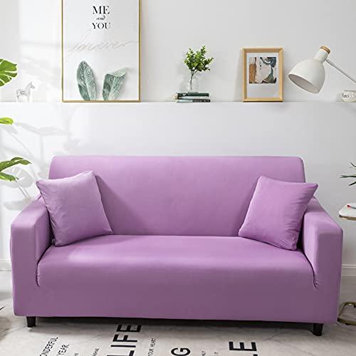 TFGUOqun Funda de sofá Cubierta de sofá elástica de Estiramiento Antideslizante para Sala de Estar A Prueba de Polvo y Hermoso (Color : Color 5, Specification : 3 Seat 190 230cm)