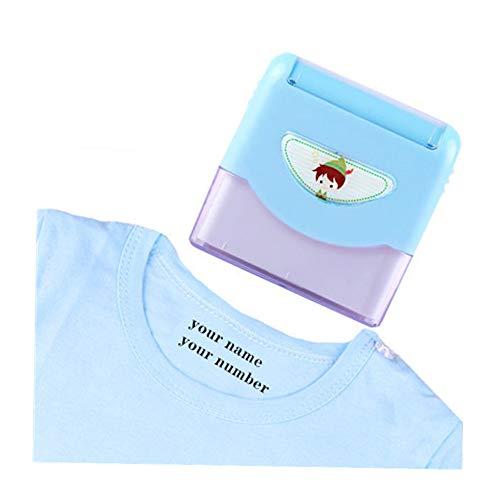 Sello Personalizado Llenado AutomáTico De Tinta - Sello De Llenado De Tinta Sello Impermeable Sello De Ropa Textil Sello De Nombre Personalizado 67 * 67 * 30 Mm