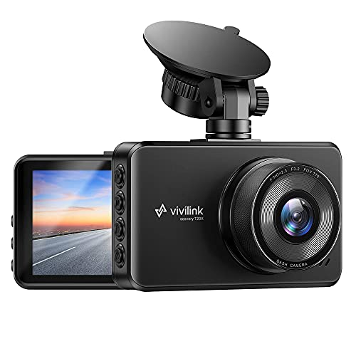 """T20X 2.5K Dash Cam for Cars, Car Camera Car Driving Recorder, 3"""" IPS Screen, WDR & F2.3 Aperture for Super Night Vision, 170° Wide Angle, Loop Recording, G-Sensor, Parking Monitor"""
