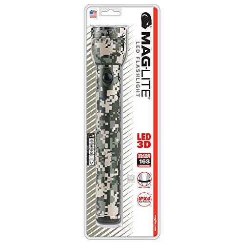 Maglite LED 3-Cell D Flashlight, Universal Camo