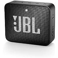 JBL GO 2 - Altavoz inalámbrico portátil con Bluetooth, resistente al agua (IPX7), hasta 5h de reproducción con sonido de alta fidelidad