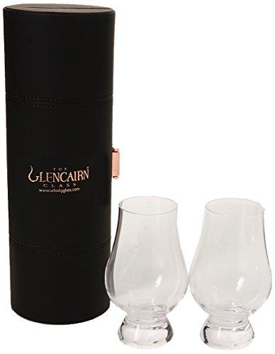 Glencairn Whiskygläser, mit Transportkoffer, 2Stück