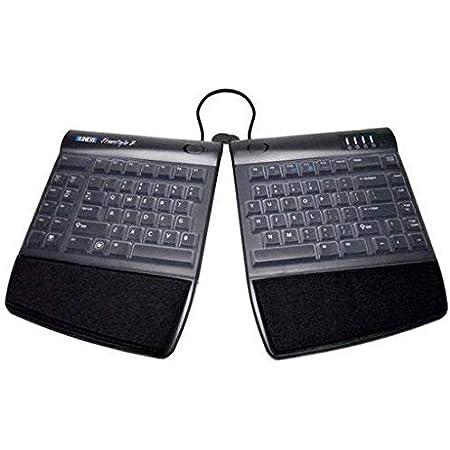ECS Portada Protectora de Silicona Piel Clara, Compatible con Teclado Dividido Kinesis Freestyle 2