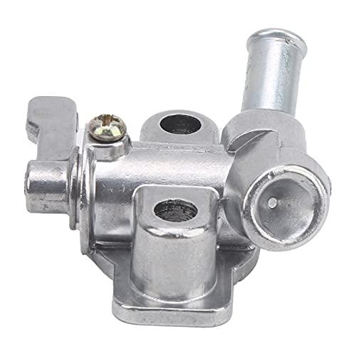 Soporte del interruptor del tanque de gasolina Luz de fácil instalación y válvula pequeña del tanque de combustible