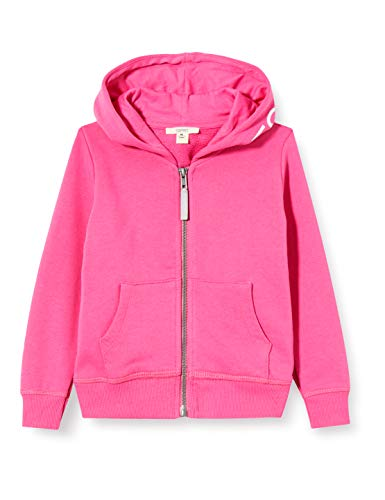 Espirt Baby-Mädchen Sweatjacke, pink|pink, 116/122
